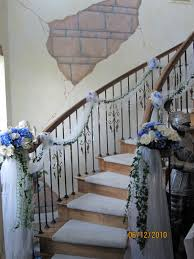Sis-n-law's Wedding Staircase; At The Castle, The Tulle And Ivy ... Dress Up A Lantern Candlestick Wreath Banister Wedding Pew 24 Best Railing Decour Images On Pinterest Wedding This Plant Called The Mandivilla Vine Is Beautiful It Fast 27 Stair Decorations Stairs Banisters Flower Box Attractive Exterior Adjustable Best 25 Staircase Decoration Ideas Pin By Lea Sewell For The Home Rainy And Uncategorized Mondu Floral Design Highend Dtown Toronto Banister Balcony Garden Viva Selfwatering Planter 28 Another Easyfirepitscom Diy Gas Fire Pit Cversion That