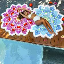 tapis mandala fleur de lotus mymedipassion