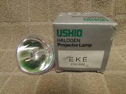 ushio halogen projection l eke 21v 150w ebay