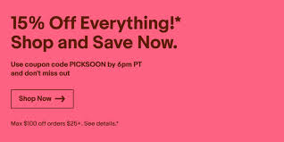 EBay Takes 15% Off Sitewide With This Promo Code: Save On ... Whosale2b Coupon Codes Updated September 2019 Get Pottery Barn Free Shipping Ebay Coupon 200 Off On 350 Bed Bath And Beyond 2018 Standard Chartered Code For Ebay Book Planet Avon Codes Discounts October Findercom Ebay Offering 10 Off On All Toy Orders With New Code Redbubble August Galeton Gloves 15 Over 25 Through 27th Ebaycom 50 Discount Promo Partsgeek March Wcco Ding Out Deals Best Buy December Chase 125 Dollars Honey A Quality Service To Save Money Or A Scam