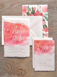 Watercolor Wedding Invitation Is One Of Pretty Ideas For Making DIY 7