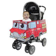 100 Fire Truck Halloween Costume Baby Costume For Stroller Toddler Costume Etsy