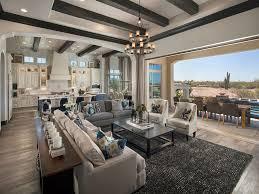Mediterranean Style Home Living Room With European Oak Floors