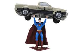 Printable Superman Lifting A Car Coloring Pages