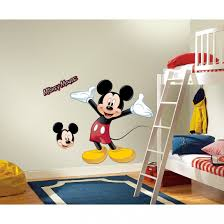 Mickey Mouse Bathroom Decor Walmart by Mickey Mouse Bedroom Decor Minnie Ideas Wall Decals Removable Room