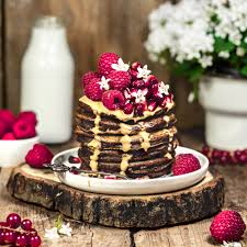 schokoladen pancakes glutenfrei vegan kitchenfae
