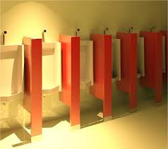 Floor Mounted Urinal Screen by General Partitions Mfg Corp Compartments And Cubicles Bim