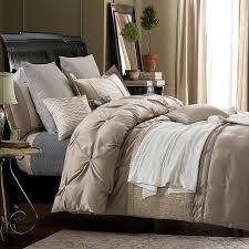 Silk Sheets Luxury Bedding Set Designer Bedspreads Queen Size