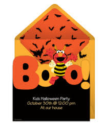 Elmo Pumpkin Pattern by Free Halloween Online Invitations Punchbowl