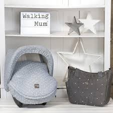 siège auto autour de bébé capote pour siège auto groupe 0 universelle gaby gris clair