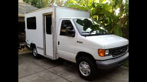 100 Box Truck Camper Jordan Conversion Full Walk Thru YouTube