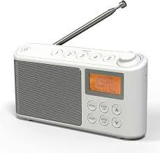 dab dab fm radio mains and battery operated portable dab