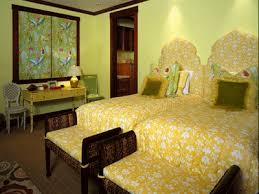 Lime Green Citrus Yellow Bedding Wall Painting
