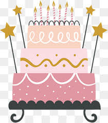Lovely pink cake Vector Pink Cake Cute Cake PNG and Vector