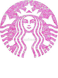 Starbucks Mermaid Pink Glitter Logo By Sofram
