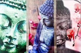 neu wandbild buddha wellness badezimmer wandtattoo poster