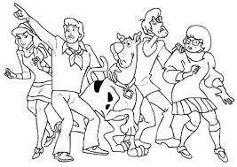 Scooby Doo Characters Coloring Pages 18 Christmas Trees Archives Free Printable