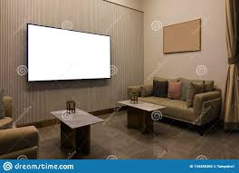 100 Living Room Table Modern Luxury With Furniture Blank Screen TV And