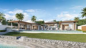100 Absolute Beach Front Front Villa For Sale Ko Samui Samui Island Realty