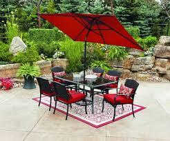 furniture wrought iron walmart patio umbrella stand
