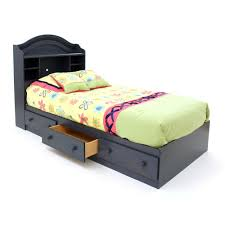 bedroom black metal walmart twin beds with purple mattress for