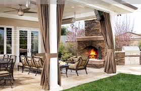 Easy Outdoor Patio Curtains On Furniture Home Design Ideas Porch Living Room
