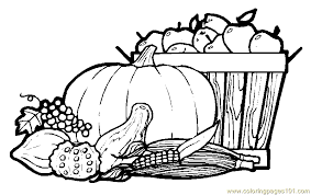 Coloring Pages Fall Printable 14 Gorgeous To Print Templates Free Page Autumn Fruits Natural World