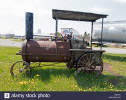 Roadside Attraction Steam Engine Made From Culvert Tube, Truck Parts ...