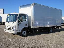 2019 New Isuzu NPR HD (20ft Box Truck With Liftgate) At Industrial ...