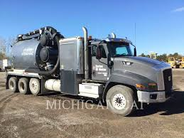 100 Vacuum Truck 2016 Caterpillar CT660L For Sale Shelby Twp MI