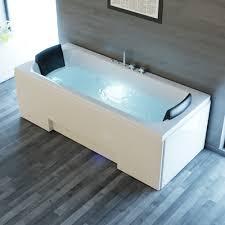 whirlpool badewanne ios 170cm x 75cm inkl spülfunktion hydromassage und