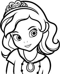 Sofia The First Coloring Pages Free Online Games Princess Pictures