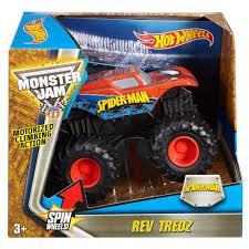 100 Spiderman Monster Truck Hot Wheels Rev Tredz SpiderMan Vehicle Walmartcom