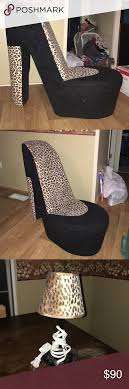 High Heel Chair And Matching Little Lamp Black And Cheetah Print ... Fniture Luxury High Heel Chair For Unique Home Ideas Leopard High Chair Baby And Kid Stuff Fniture Go Wild Notebook Cheetah Buy Online At The Nile Print Bouncer Happy Birthday Banner I Am One Etsy Ikea Leopard In S42 North East Derbyshire For 1000 Amazoncom Ore Intertional Storage Wing Fireside Back Armchair Little Giraffe Poster Prting Boy Nursery Ideas Print Kids Toddler Ottoman Sets Total Fab Outdoor Rocking Ztvelinsurancecom Vintage French Gold Bgere