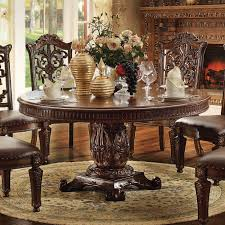 Vendome 60 Inch Round Dining Table Cherry