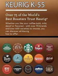 Keurig K55 Coffee Flavors
