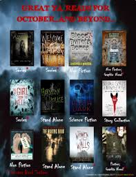 Halloween Books For Adults 2017 by Ya Books And More