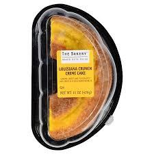 The Bakery Louisiana Crunch Cr¨me Cake 15 oz Walmart