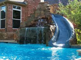 Cool Swimming Pool Designs With Well Pools Slides Excellent Mini Fresh
