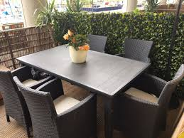 Garden Or Patio Dining Table & 5 Chairs