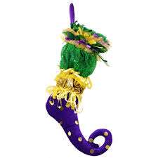 Burlap Mardi Gras Door Decorations by Mardi Gras Jester Stocking 95623 Mardigrasoutlet Com