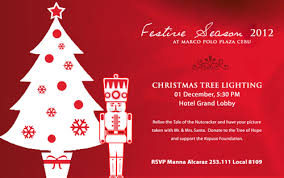 Wandering Barefoot Food Tales It S A More Fun Festive Season At Tree Lighting Ceremony