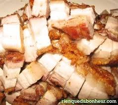 cuisine chinoise porc poitrine croustillante de porc recette chinoise paperblog