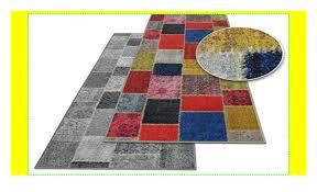 casa pura teppichläufer monsano patchwork muster im