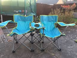 Kids Twin Camping Chairs In CF72 Miskin For £10.00 For Sale - Shpock