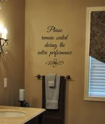 Etsy Bathroom Wall Art by Bathroom Humor Please Remain Seated During The Entire