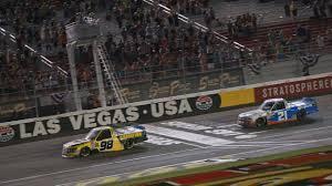 100 Jayski Trucks Grant Enfinger Gets Breakthrough NASCAR Truck Series Win At Las Vegas