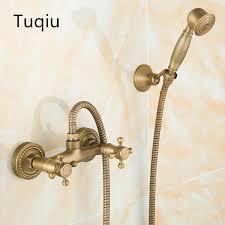 mode europa stil qualität messing bronze fertige badezimmer badewanne wasserhahn set dusche wasserhahn mixer set