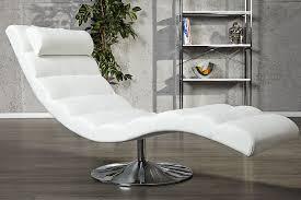 extravagante design liege relaxo weiss relaxliege riess