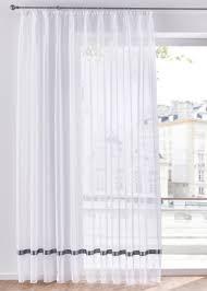 gardinen store mit satinband